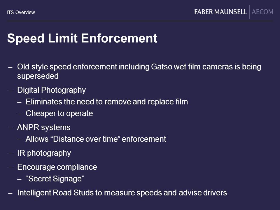 Speed Limit Enforcement