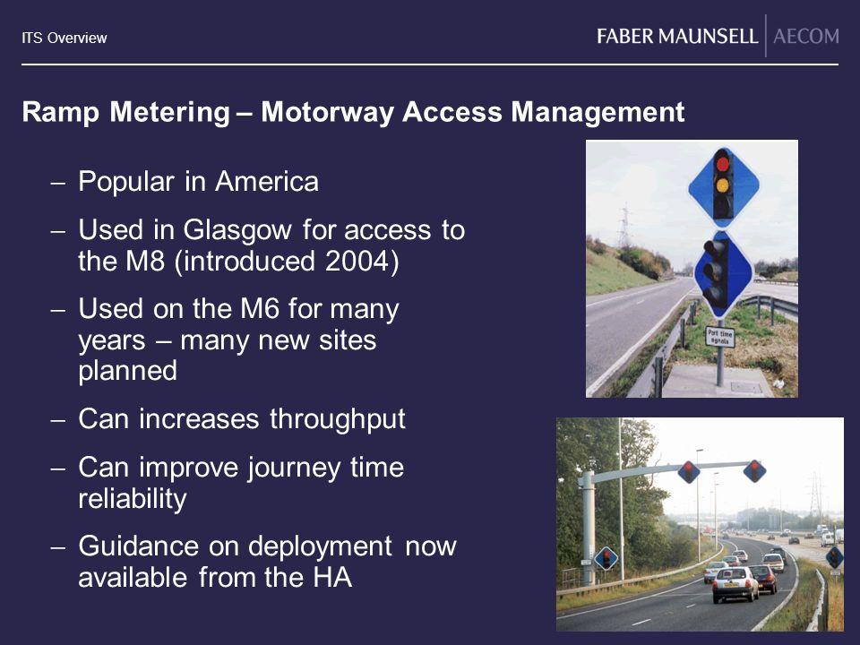 Ramp Metering – Motorway Access Management