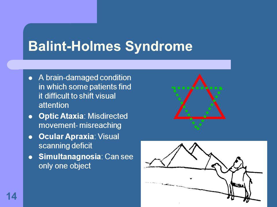Balint-Holmes Syndrome
