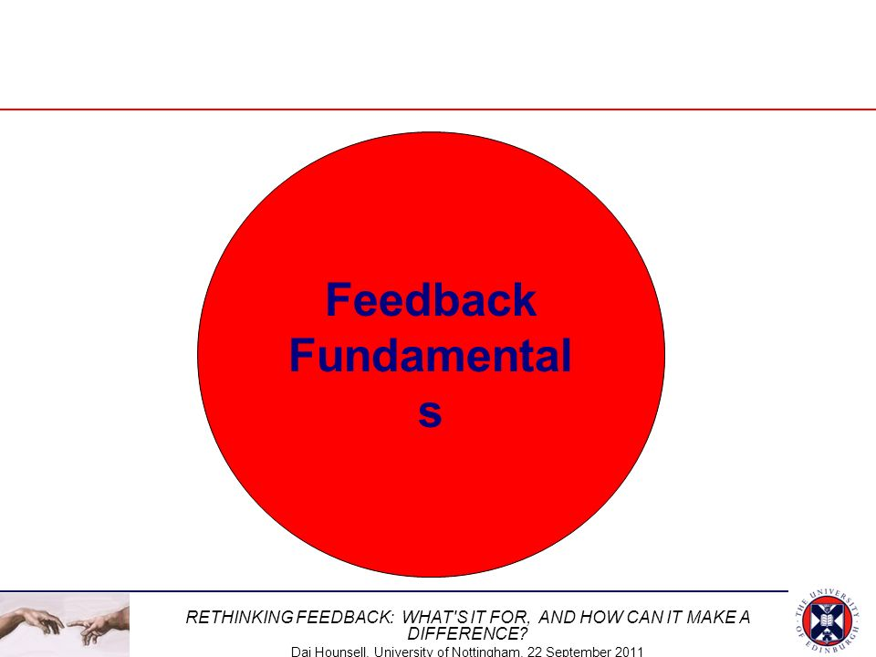 Feedback Fundamentals