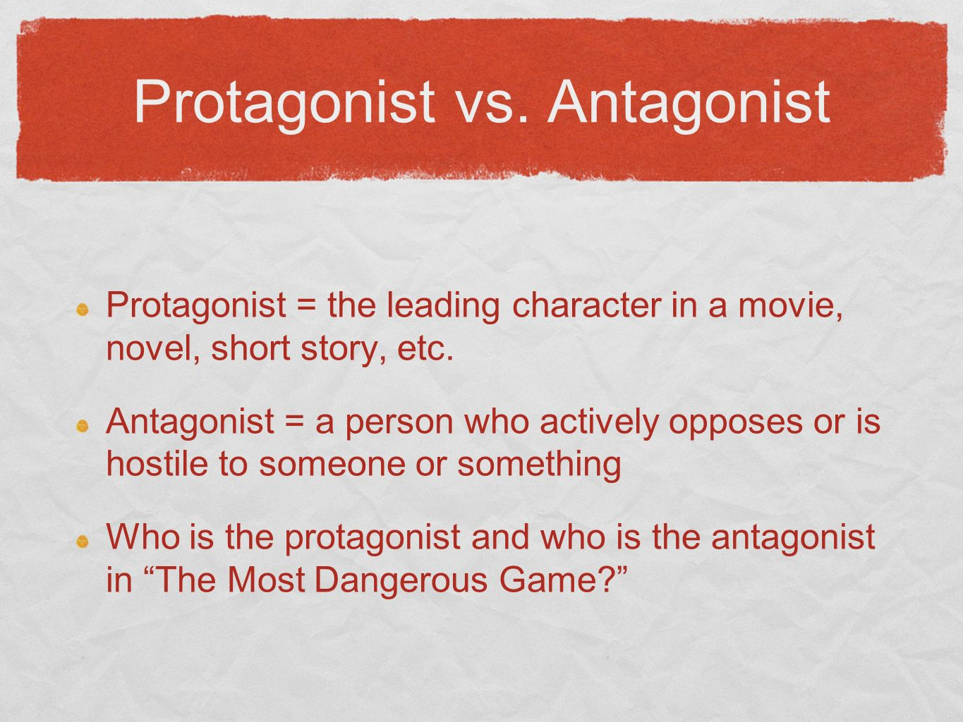 Difference Between Villains and Antagonists