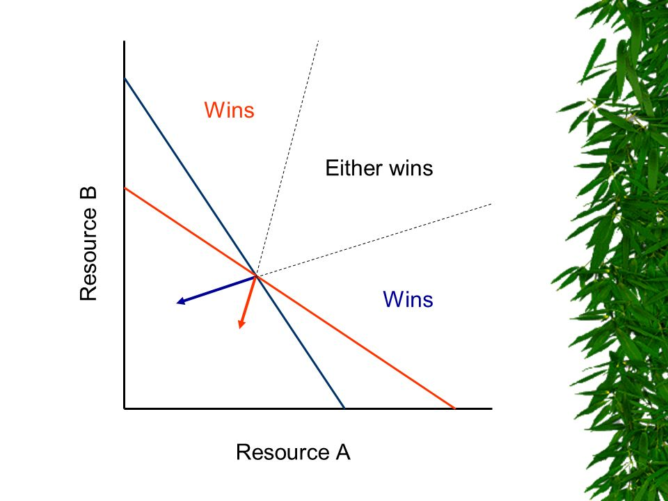 Wins Either wins Resource B Wins Resource A