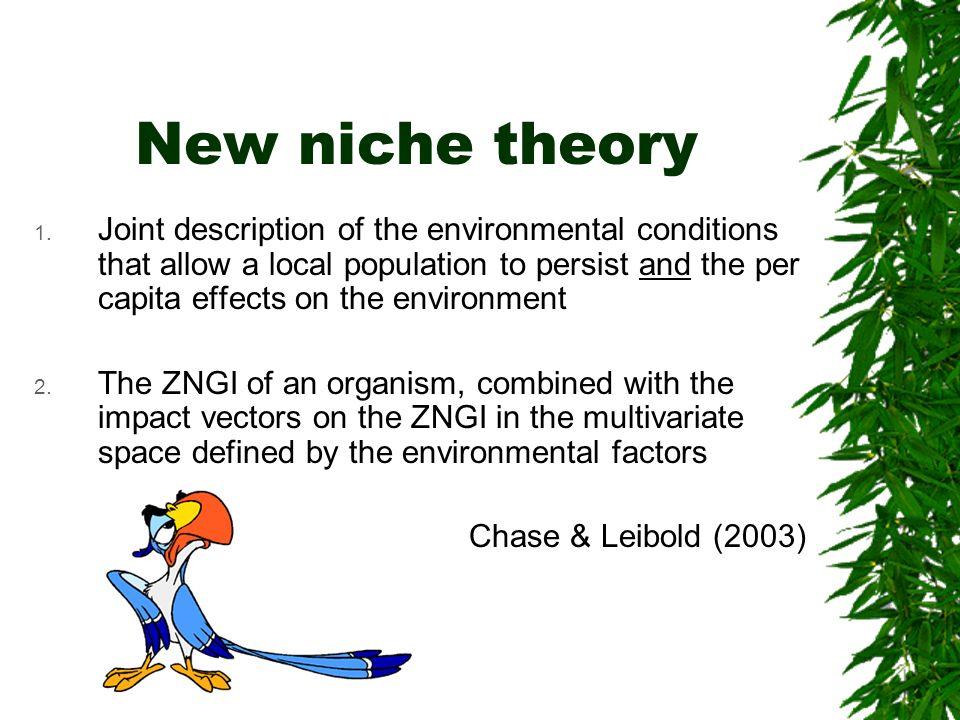 New niche theory
