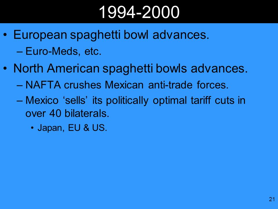 European spaghetti bowl advances.
