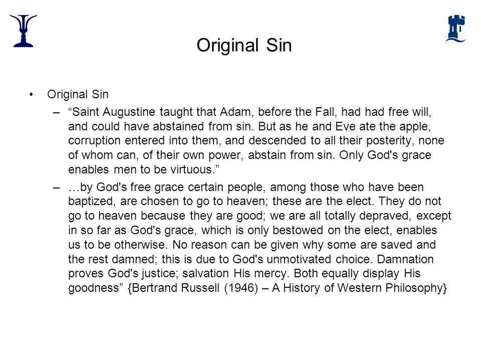 Original Sin Original Sin