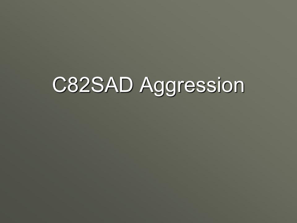 C82SAD Aggression