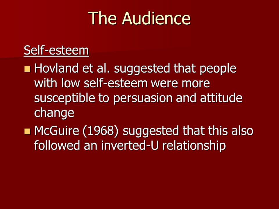 The Audience Self-esteem