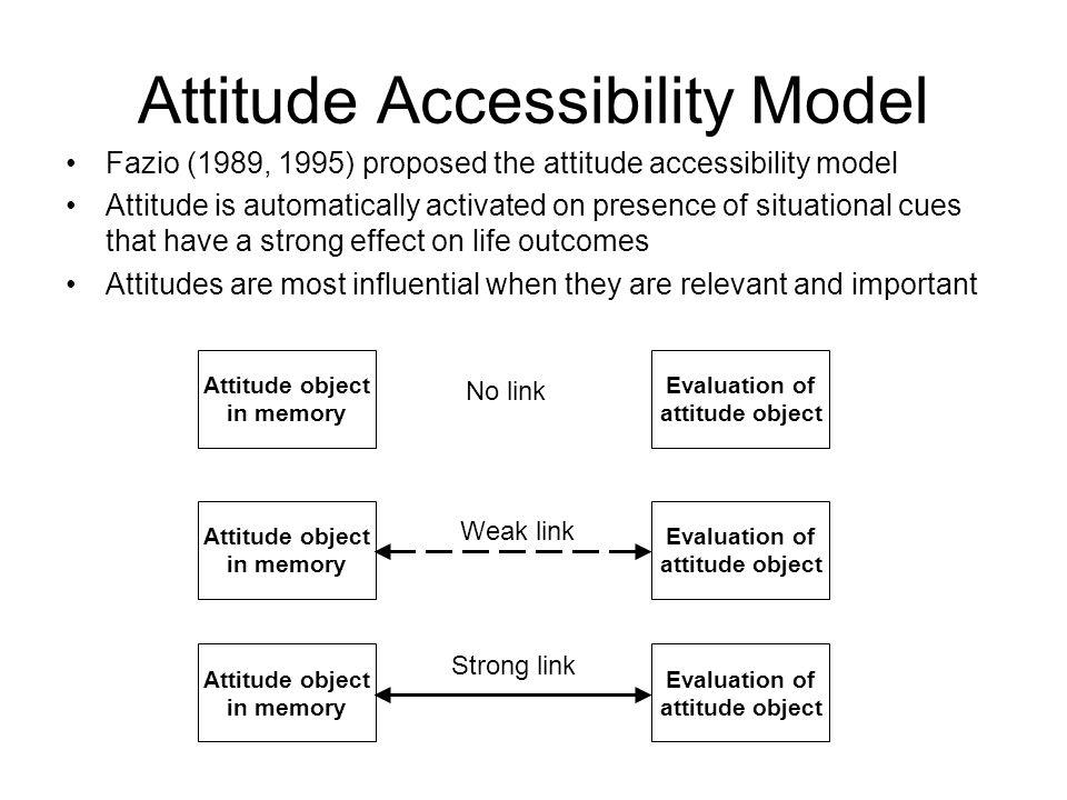 Attitude Accessibility Model