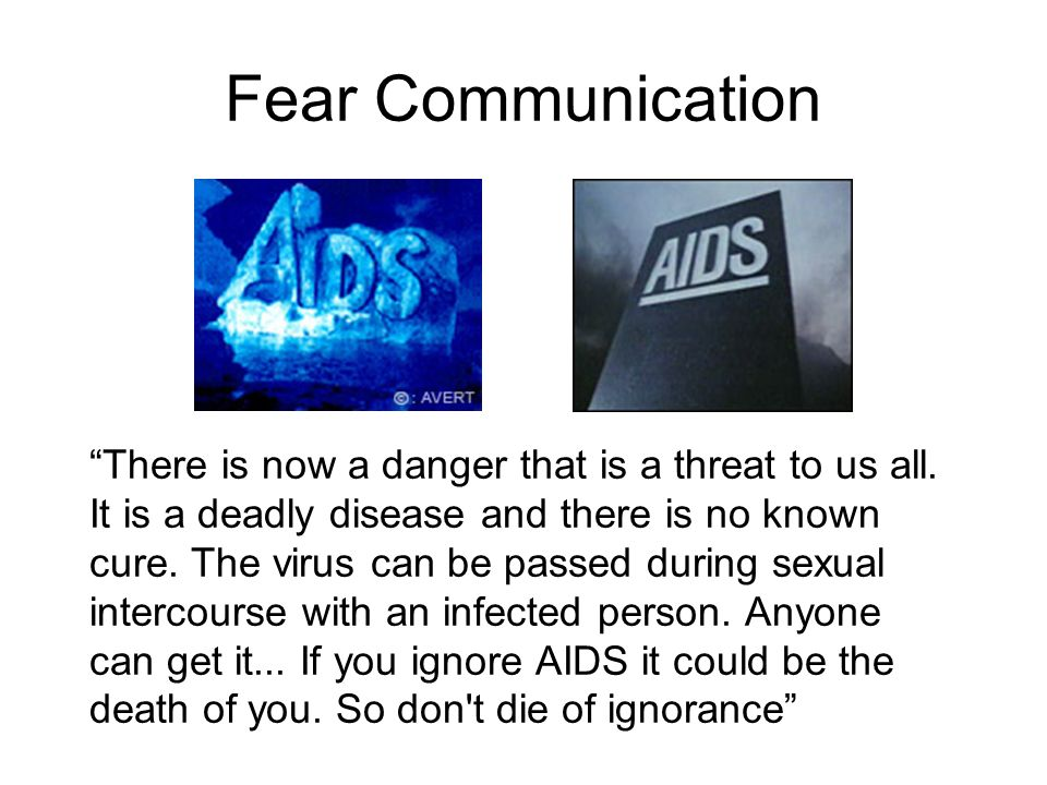 Fear Communication