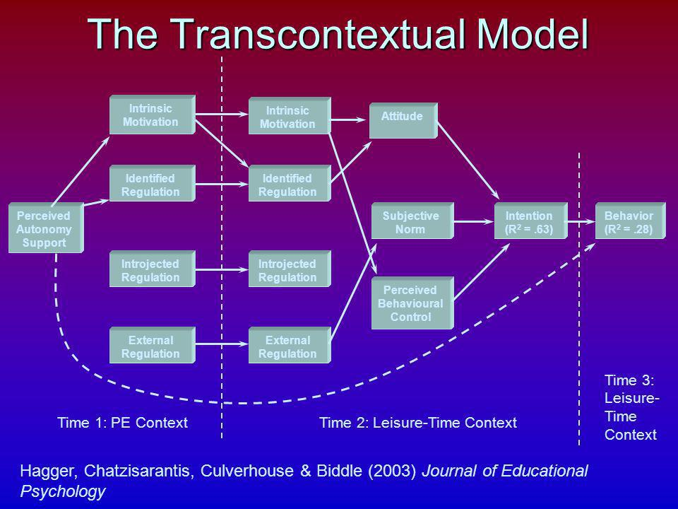 The Transcontextual Model