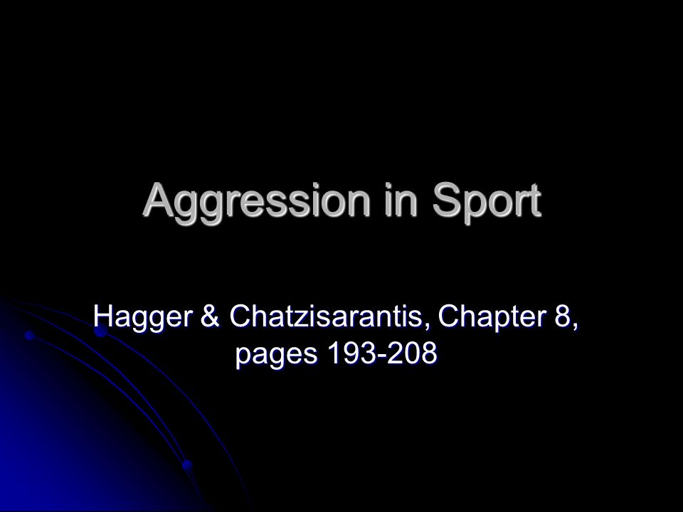 Hagger & Chatzisarantis, Chapter 8, pages 193-208