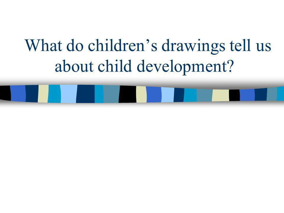 What do children's drawings tell us about child development