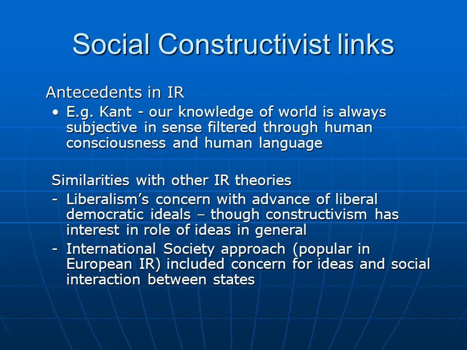Social Constructivist links