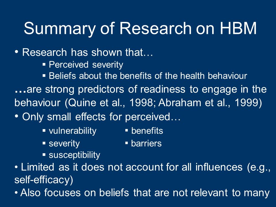 Summary of Research on HBM