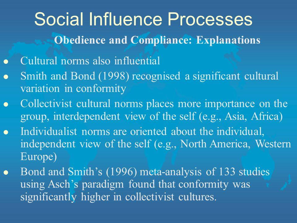 Social Influence Processes