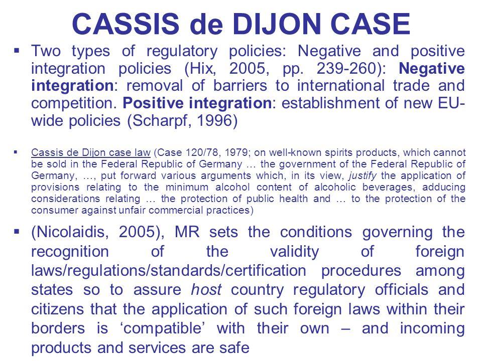 CASSIS de DIJON CASE