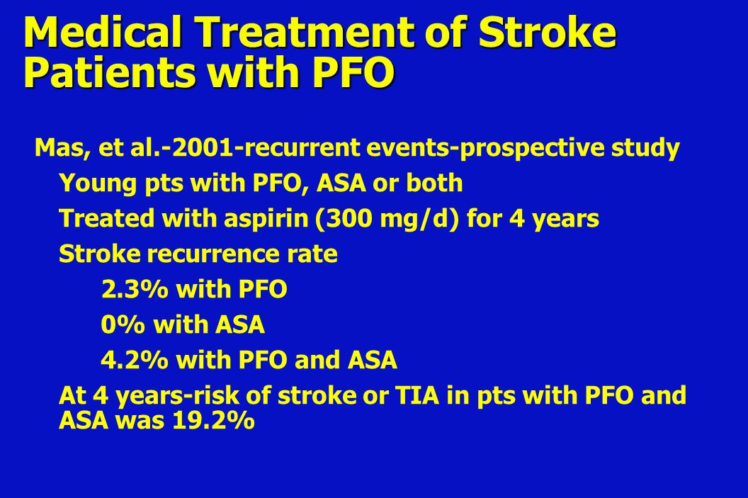 Patent foramen ovale - Diagnosis and treatment - Mayo Clinic