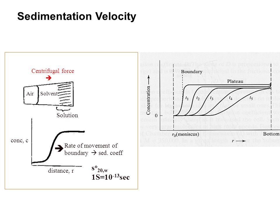 Sedimentation Velocity
