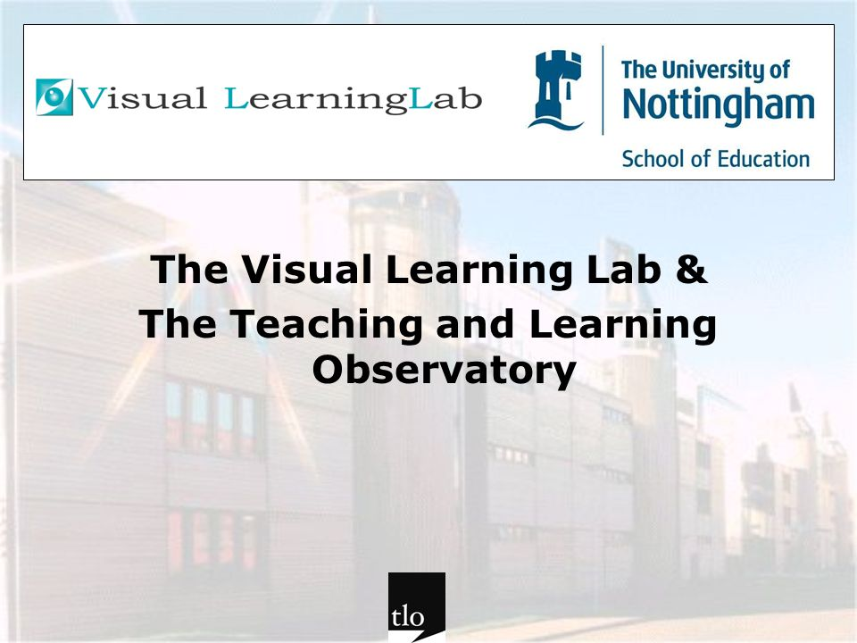The Visual Learning Lab &