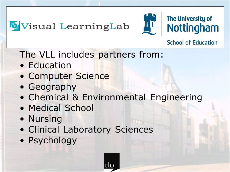 The VLL includes partners from: