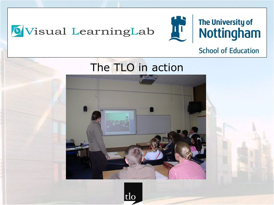 The TLO in action