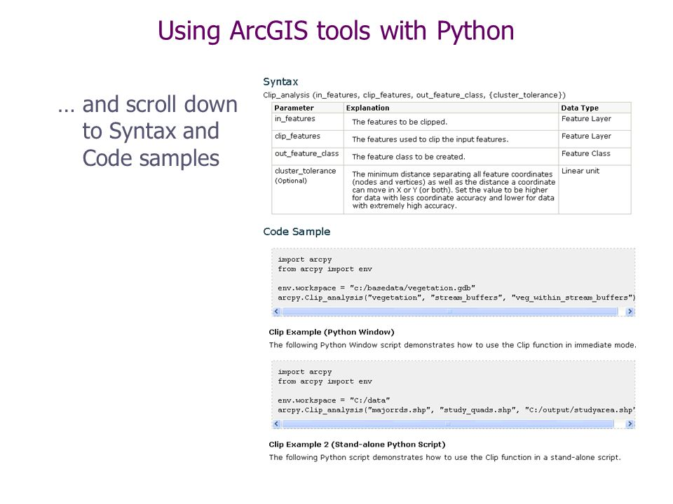 Python, Toolboxes, Tools & Script Tools - ppt video online download