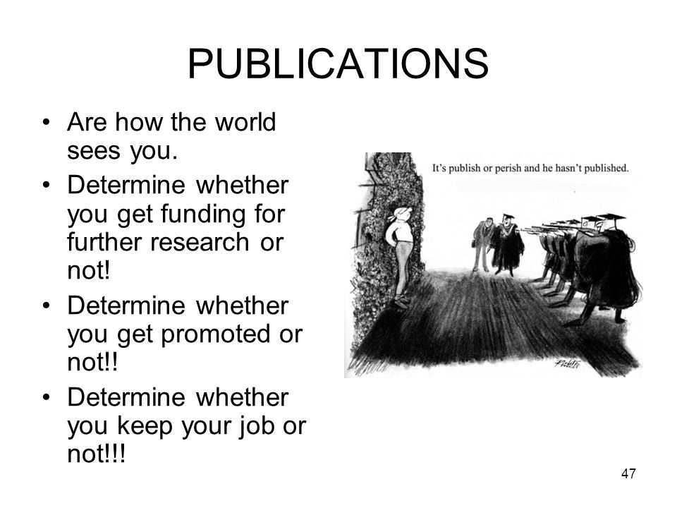 PUBLICATIONS Are how the world sees you.