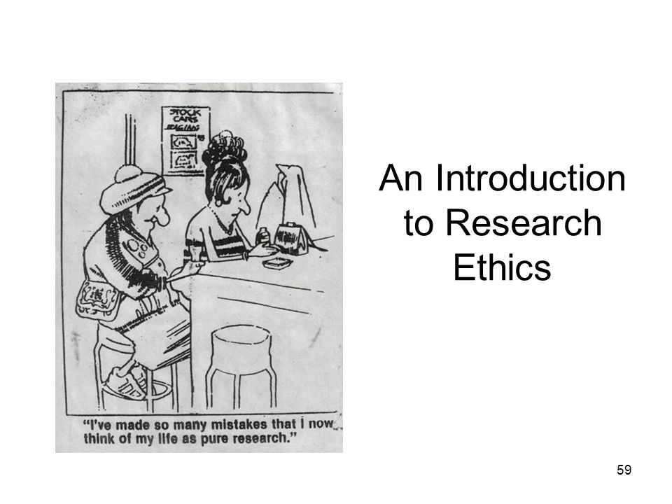 An Introduction to Research Ethics