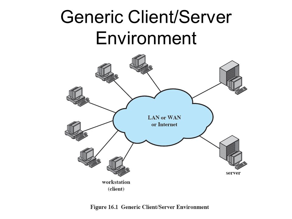Generic Client/Server Environment