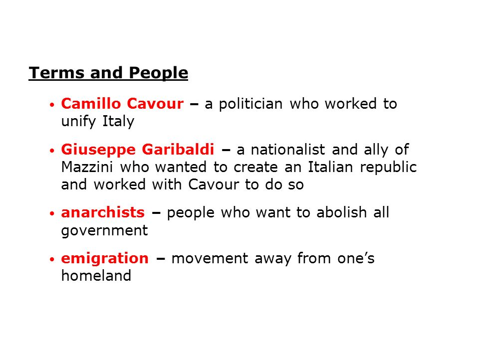 why was mazzini not successful in unifying italy up to 1849 essay According to mazzini, why should italy be united proclamation of 1849 i am not able to return a favorable to convince him or her to join up.