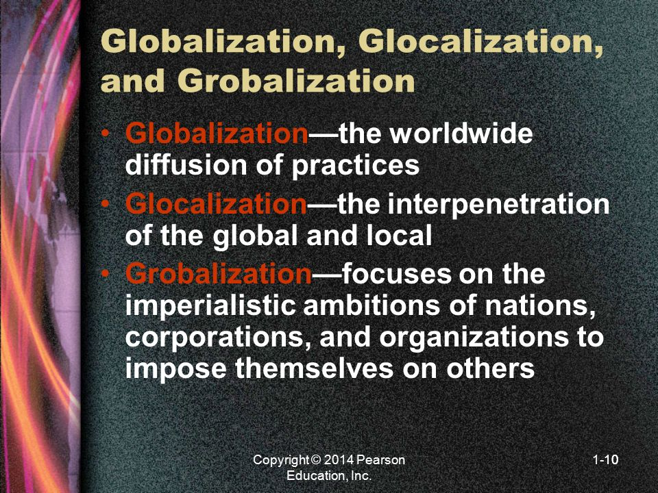 Globalization, Glocalization, and Grobalization
