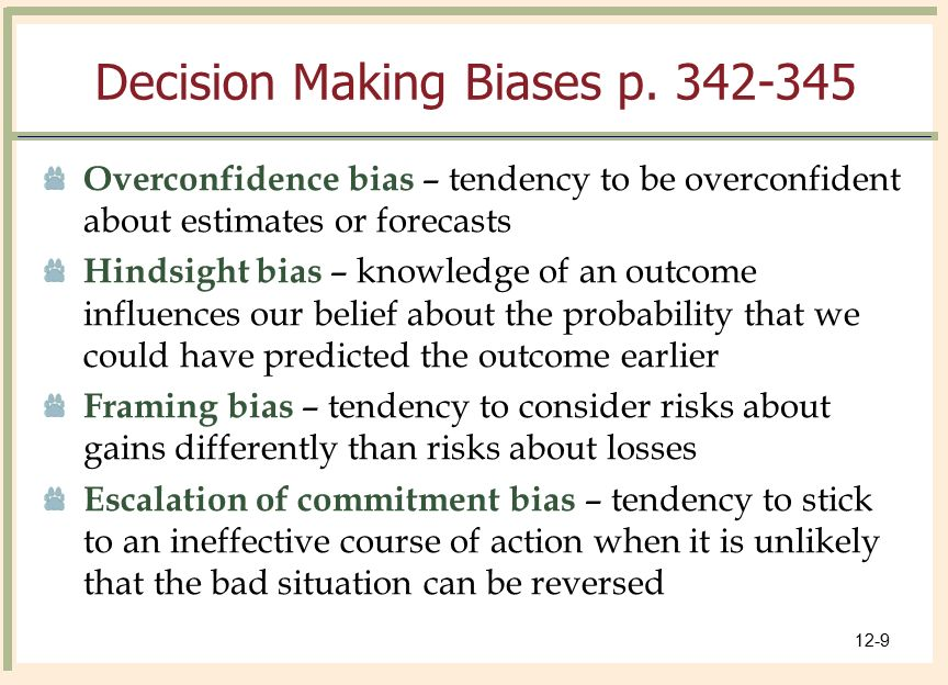 How can the identified biases be overcome Custom paper Service ...