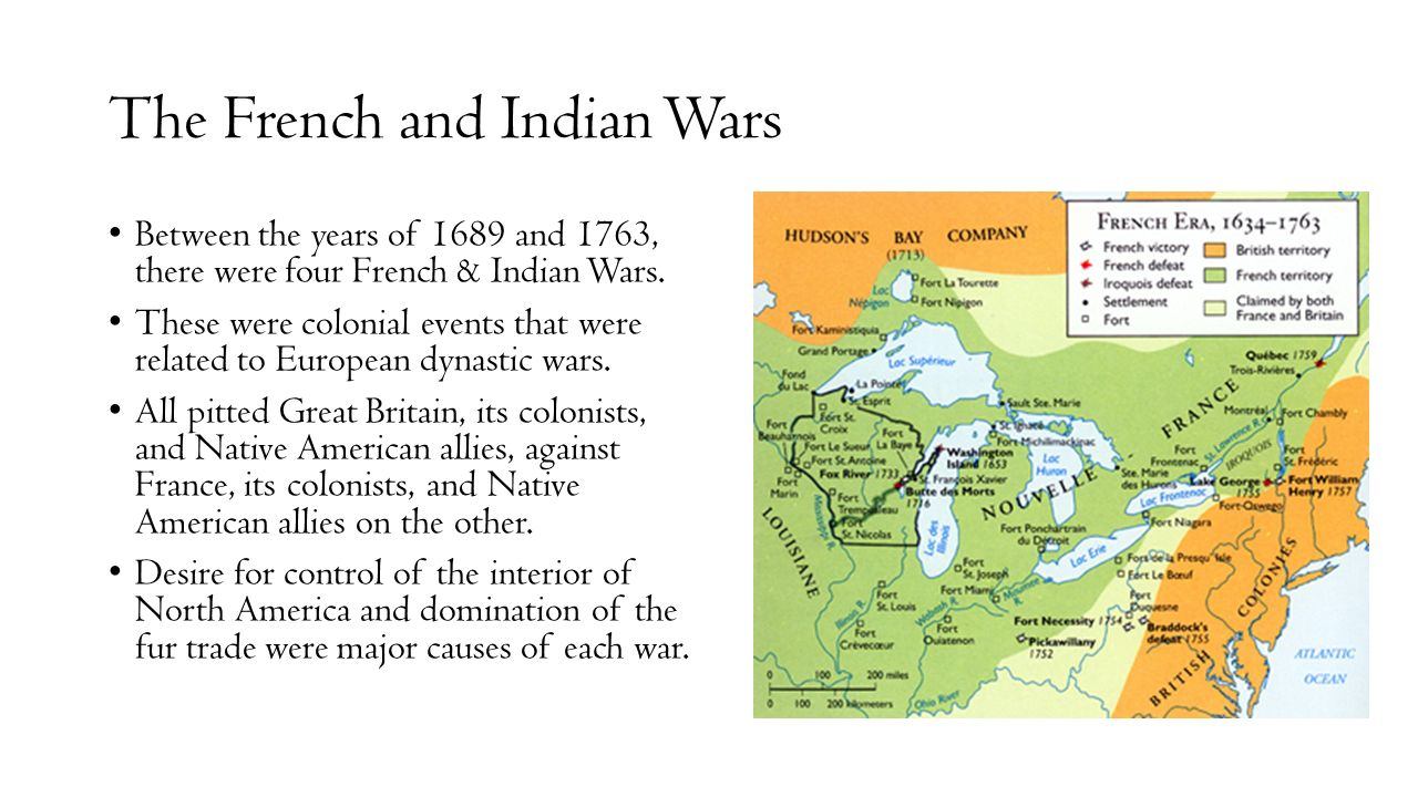 an overview of the french and indian wars 1689 1763 America's colonial wars, 1689-1763 louisbourg, canadian fortress that france & britain french & indian war seven years' war, 1756-1763 1754-1763.