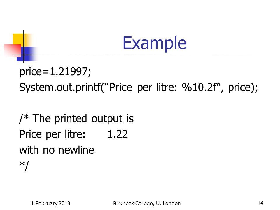 Birkbeck College, U. London