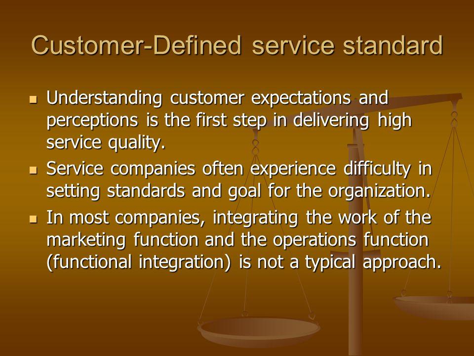 Service development and design ppt download customer defined service standard malvernweather Gallery