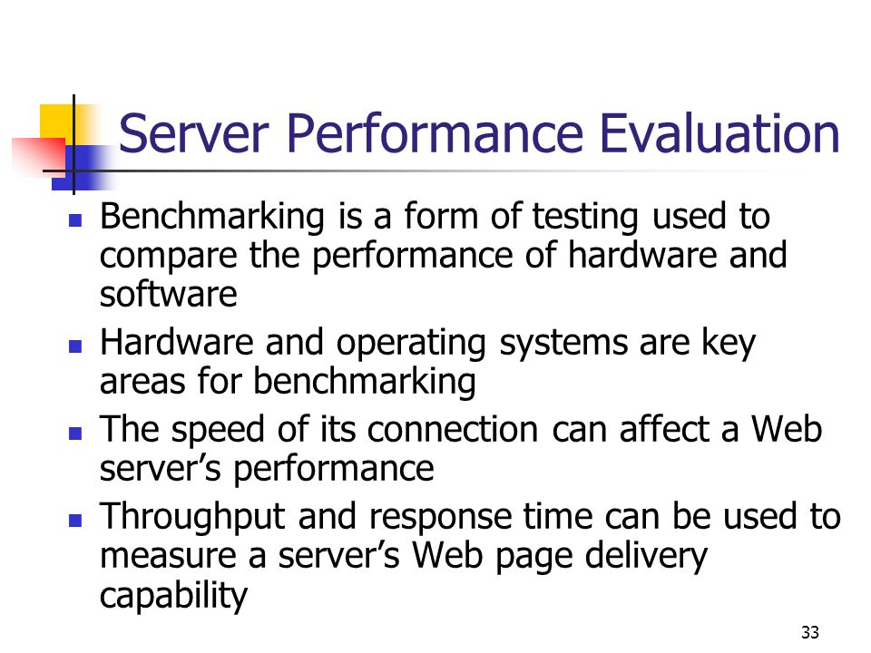 Server Performance Evaluation
