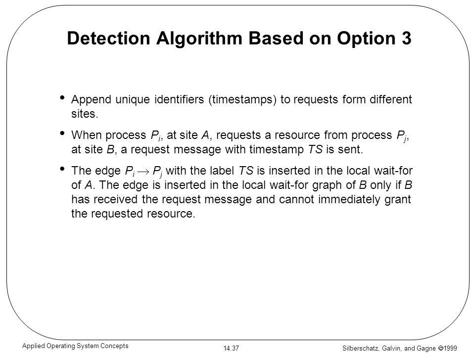 Detection Algorithm Based on Option 3