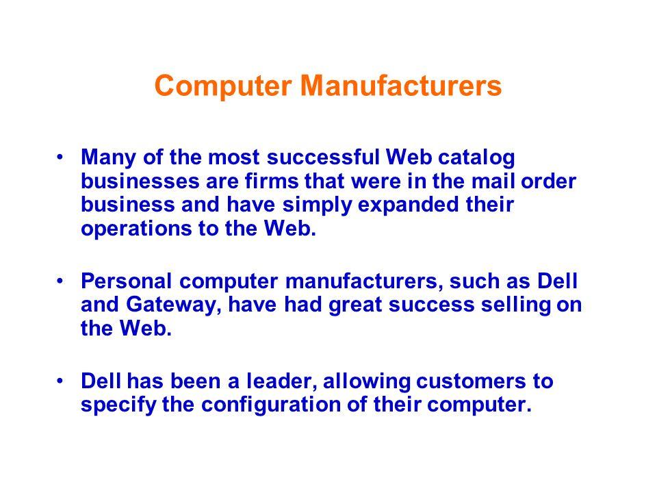 Computer Manufacturers