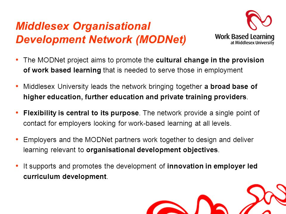 Middlesex Organisational Development Network (MODNet)