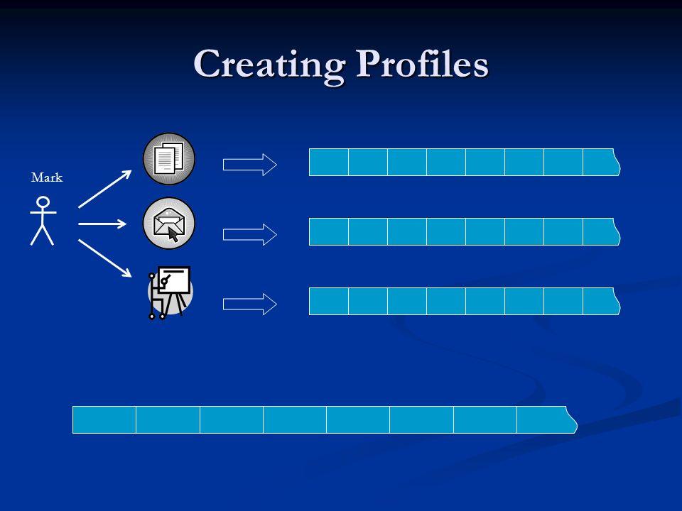 Creating Profiles Mark