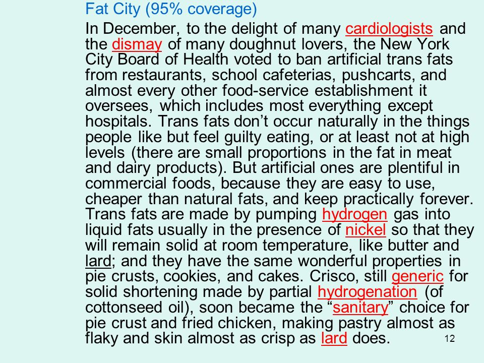 Fat City (95% coverage)