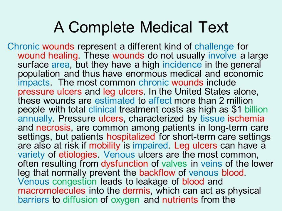 A Complete Medical Text