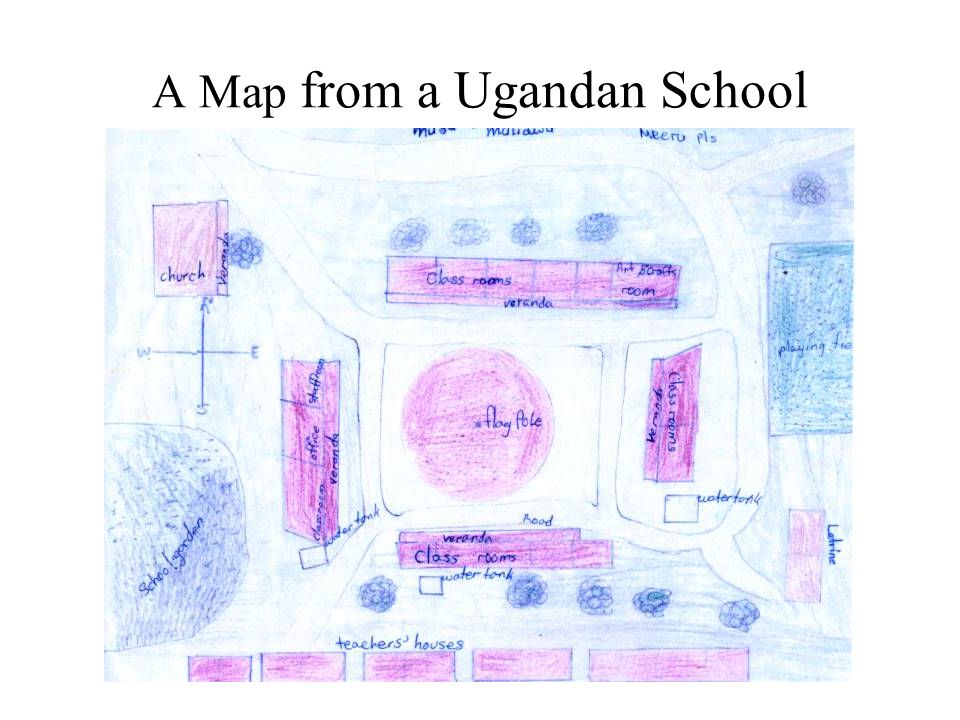 A Map from a Ugandan School