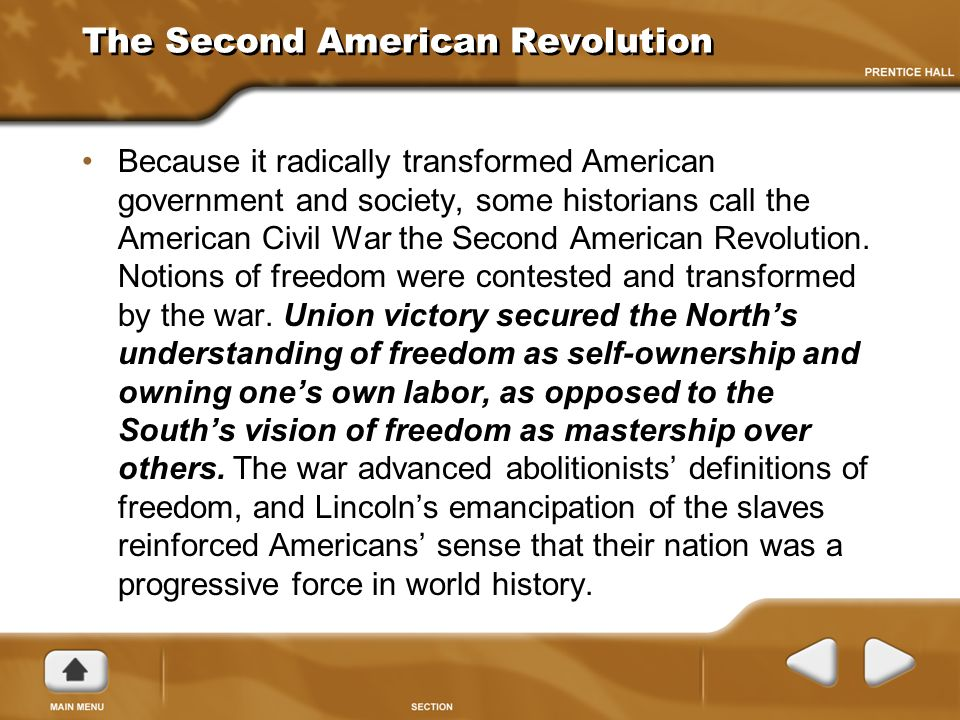was the civil war a second american revolution essay Has been published on buy essay online, chinese civil war essay crows theology ted hughes analysis essay revolution essays american war civil second.