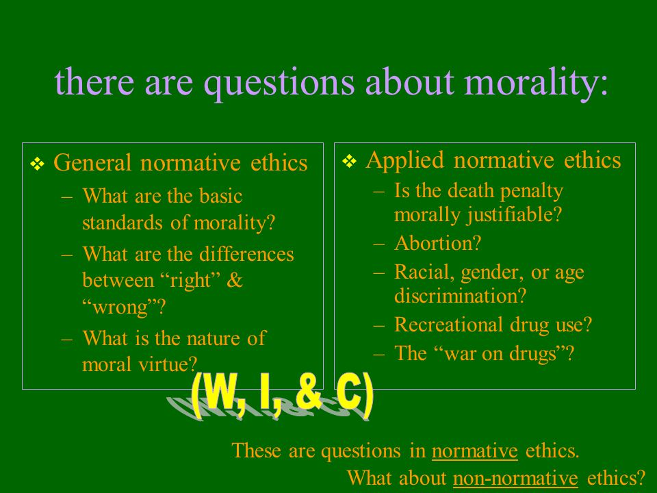 what is normative ethics pdf