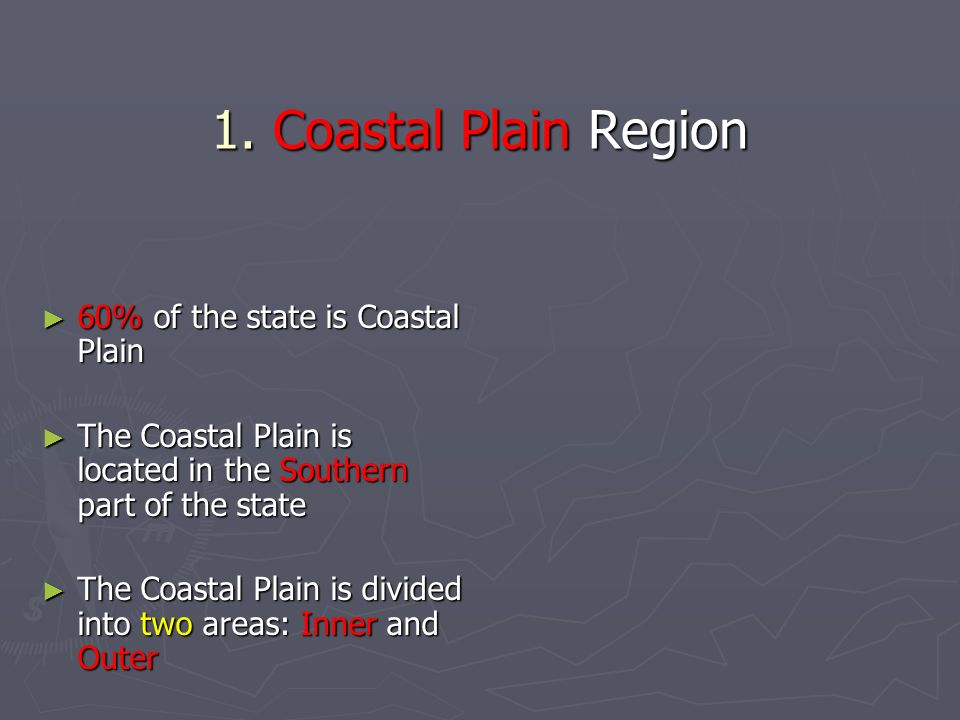 Outer Coastal Plain Natural Resources