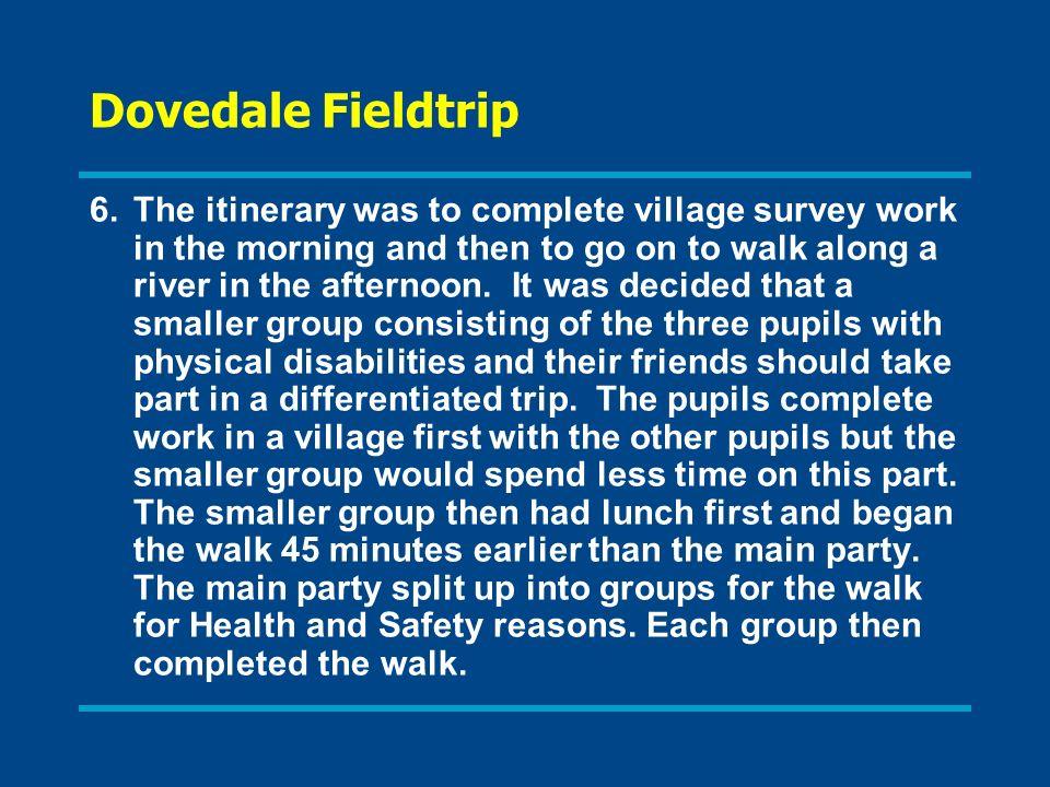 Dovedale Fieldtrip