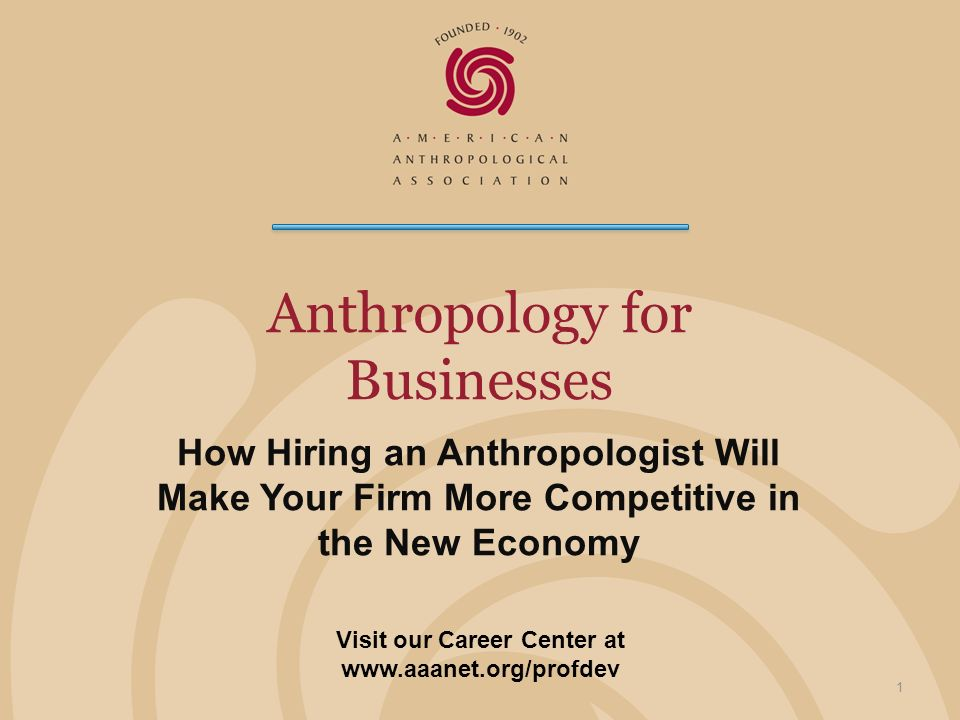 Anthropology for Businesses