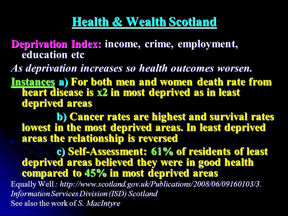 Health & Wealth Scotland
