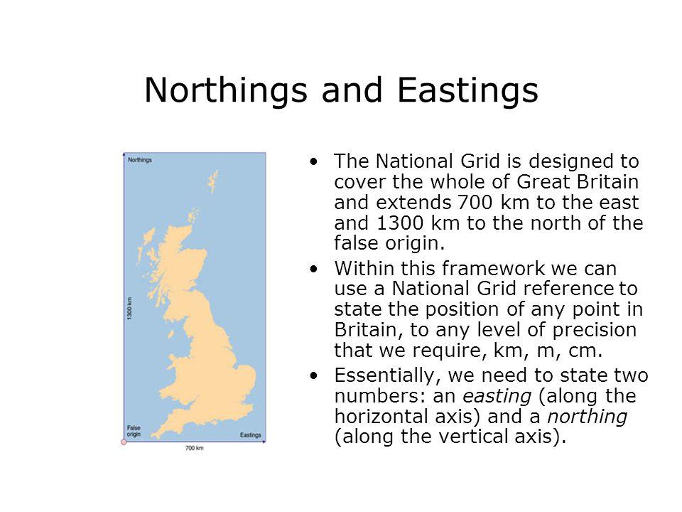 Northings and Eastings